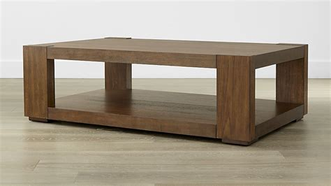 lodge coffee table in coffee tables crate and barrel
