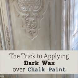 applying autentico chalk paint trick to applying wax chalk paint on furniture