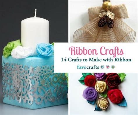 ribbon craft projects ribbon crafts 14 things to make with ribbon favecrafts
