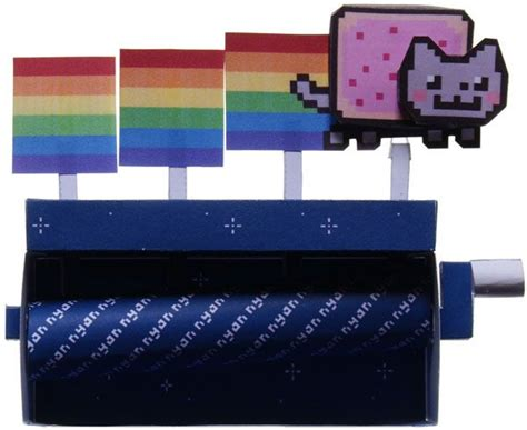 paper craft machine papercraft nyan cat machine free paper automata models