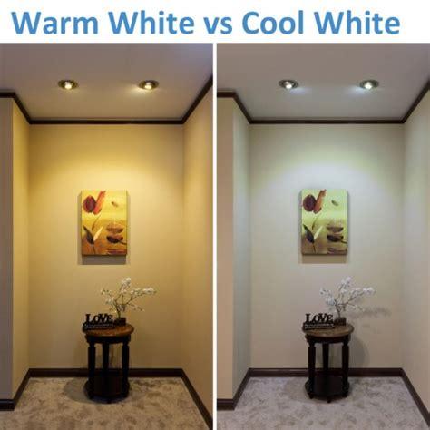 cool white lights warm white vs cool white led lighting