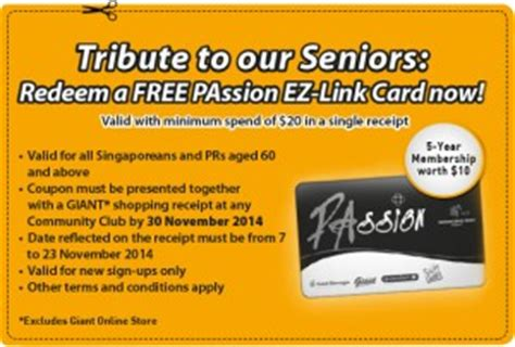 where to make ez link card tribute to seniors free ez link card with 20