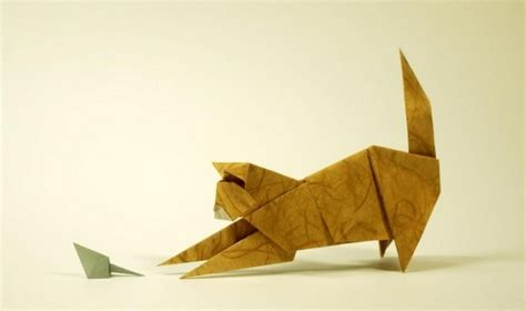 kitten origami origami cats