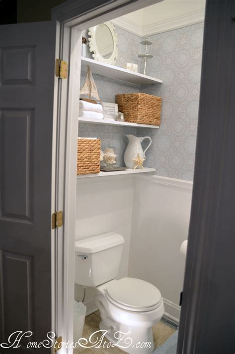 half bath update home stories half bath reveal powder room home stories a to z