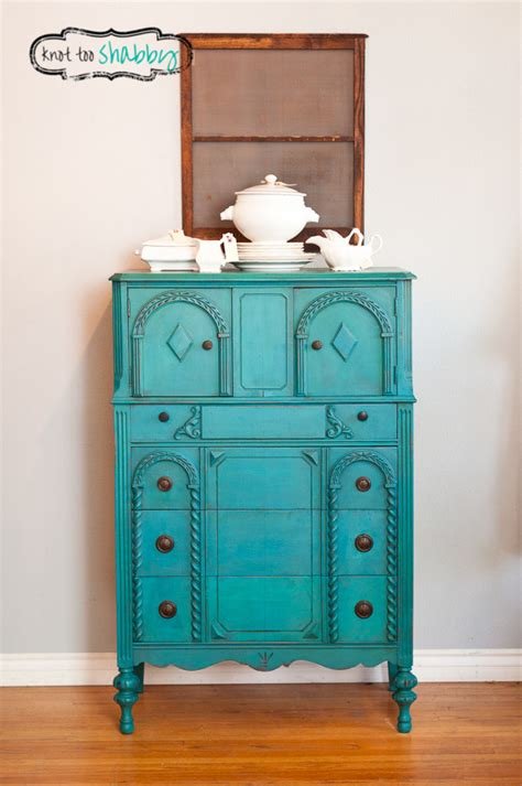chalk paint turquoise chalk painted furniture by color turquoise chalk paint