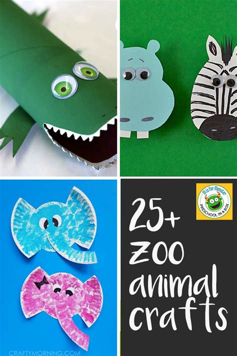 zoo animal crafts for 25 zoo animal crafts every kid will to make
