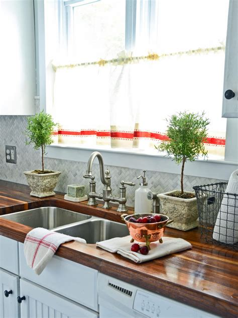 decorating ideas for kitchen countertops how to decorate kitchen counters hgtv pictures ideas hgtv