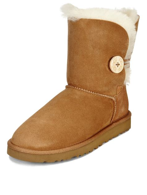 ugg boots ugg australia bailey button boots chestnut co uk