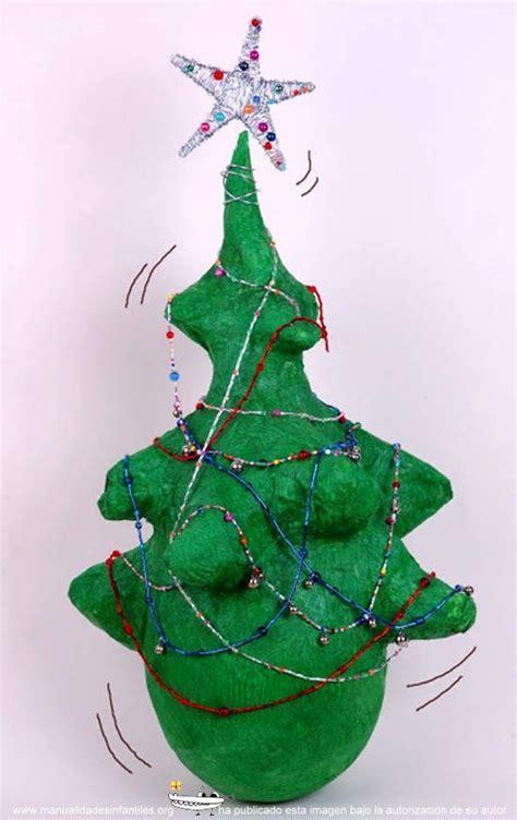 como hacer un arbol de navidad de 193 rbol de navidad de papel mach 233 manualidades infantiles