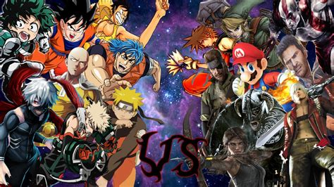 anime v anime vs videojuegos especial 5k pt 2 darckstar ft