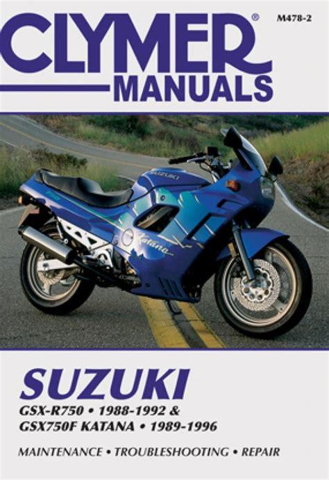 1992 Suzuki Katana 750 by Suzuki Gsx R750 1988 1992 Gsx750f Katana 1989 1996