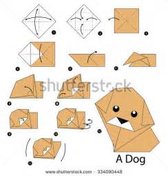 how to make an origami puppy stock photos images pictures