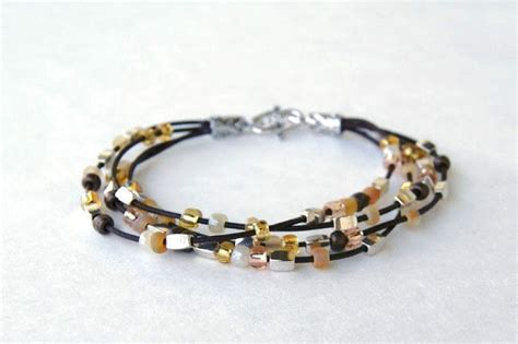 how to make easy jewelry bracelet patterns easy diy bracelets out of leather