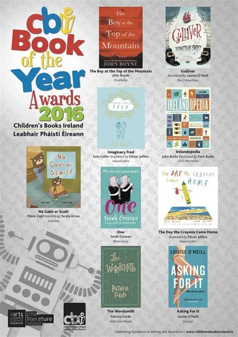 picture book awards cbi 2016 book of the year awards shortlist announced