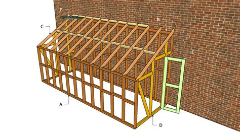 lean to greenhouse plans free outdoor plans diy shed