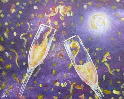 paint nite new years paint nite new year drop