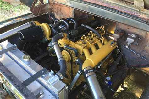 Dodge Cat Diesel by Ford Caterpillar Diesel Conversion