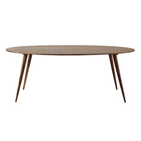 table ovale de salle 224 manger en bois de sheesham massif l 200 cm andersen maisons du monde