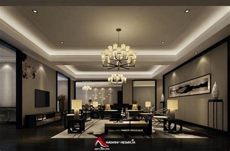 interior lighting for homes ۴۵ عکس نورپردازی و نورمخفی طراحی داخلی و دکوراسیون دور لامپ نورمخفی کناف گچ بری و