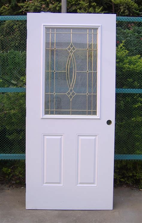 steel doors with glass glass panel door modern home house design ideas