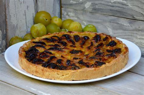 tarte aux prunes reine claude la p tite cuisine de pauline