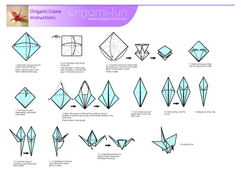 origami crane step by step archives mr korchnak s class