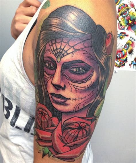 100 greatest day of the dead tattoos meanings 2017