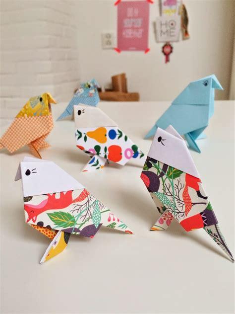 paper bird craft origami birds crafts