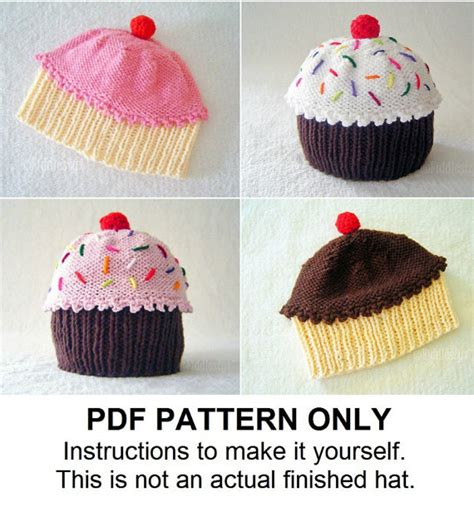 cupcake knitted hat pattern free knitting pattern baby cupcake hat pattern the cupcakes hat
