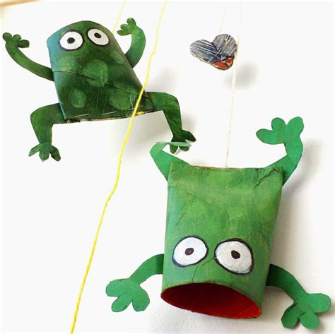 frog craft project oneperfectday grrribbit