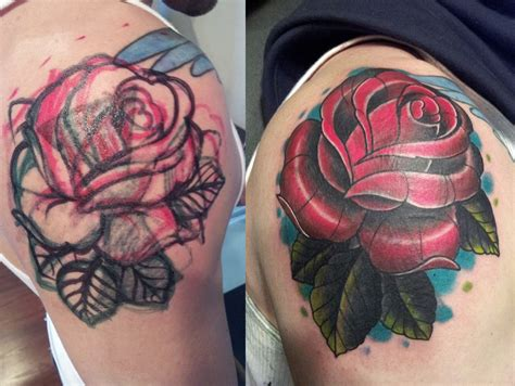 cover up rose tattoo mcnabbs tattoo amp fine art artist