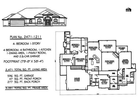 5 bedroom house plans 1 story 1 story 4 bedroom house plans 4 bedroom house house plans 1 story treesranch