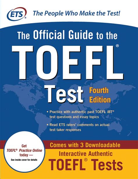 books with pictures pdf the official guide to the toefl test fourth edition book