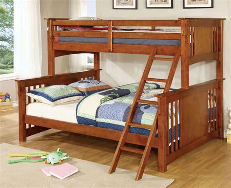 large bunk beds creek oak large bunk bed
