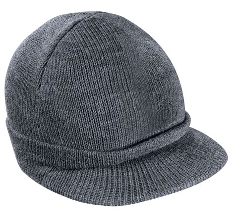beanie knit hats discontinued district 174 knit beanie with bill unisex