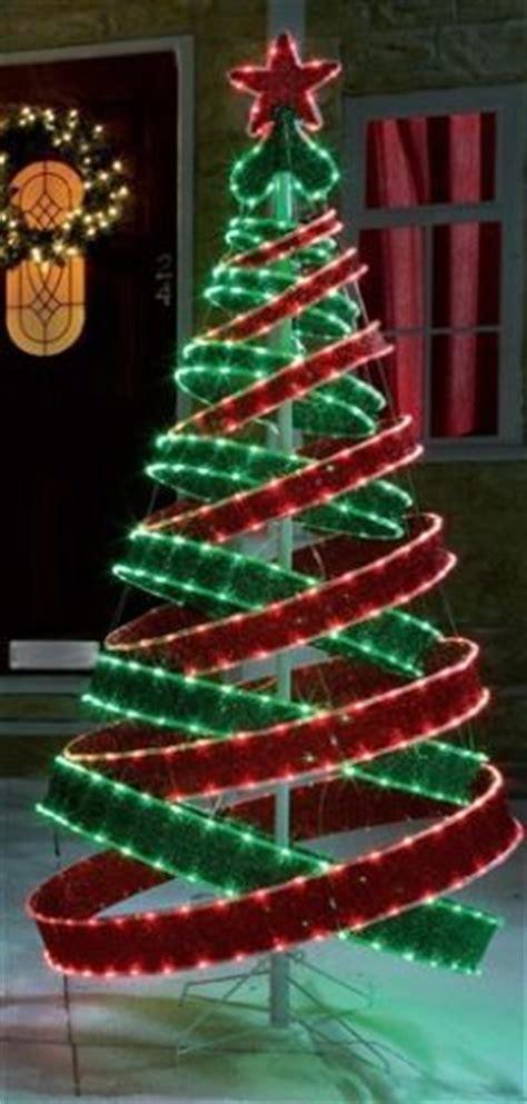 4ft pop up tree 4ft outdoor green pre lit pop up spiral tree