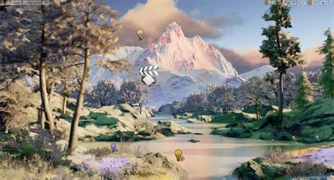 bob ross painting grass how to paint like bob ross in ue4