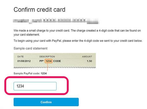 can t make credit card payments do i to verify my credit card on paypal infocard co