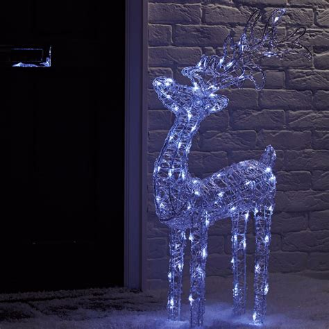 reindeer outdoor lights best outdoor lights to give exteriors festive