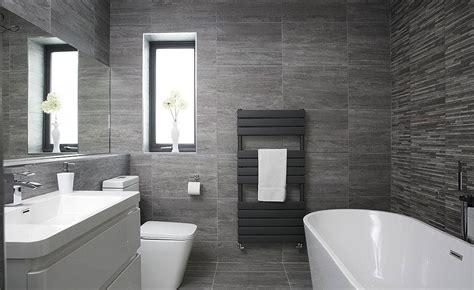 black and grey bathroom ideas contemporary grey bathroom in a former bedroom real homes