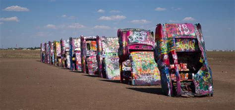 The Cadillac Ranch by Cadillac Ranch Amarillo Roadtrippers