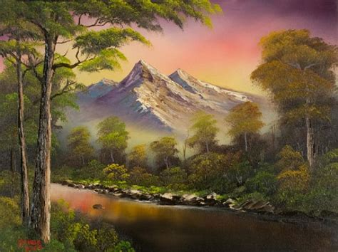 painting by bob ross for sale bob ross bobs and pinturas on