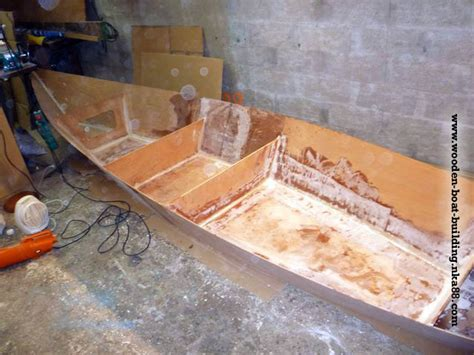 marine woodworking stitch and glue plywood boat plans boat plans self project