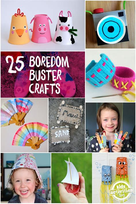 crafts to do when bored for quot i m bored quot 25 summer boredom buster crafts