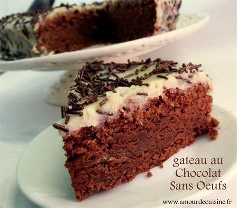 recette gateau chocolat 2 oeufs