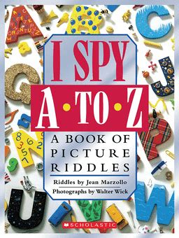 i mystery a book of picture riddles i a to z a book of picture riddles by jean marzollo