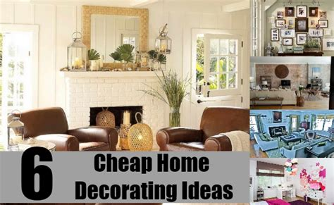 ideas for inexpensive 6 cheap home decorating ideas simple and cheapest way to