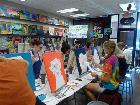 paint with a twist mckinney paint a portrait of your at painting with a twist