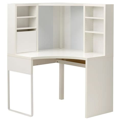 desk with hutch ikea micke corner workstation white trends with ikea desk hutch images pinkax