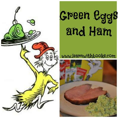 green eggs and ham pictures from the book green eggs and ham learn with books
